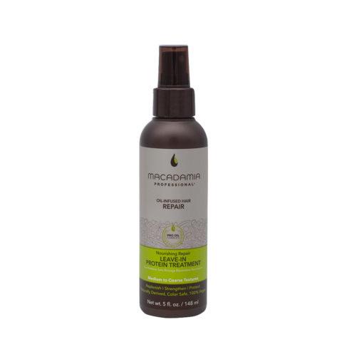 Macadamia Nourishing Sérum protéiné sans rinçage pour cheveux abîmés 148 ml