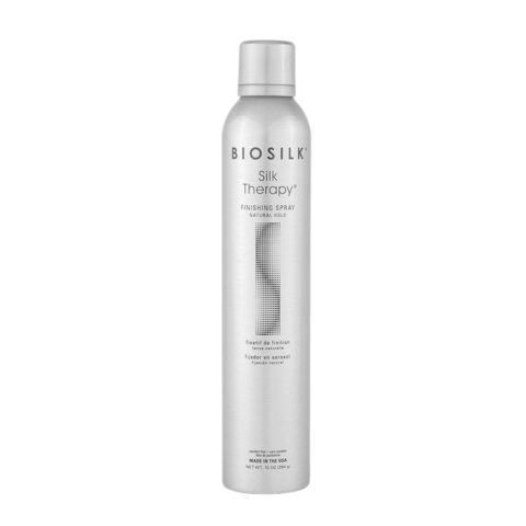 Biosilk Silk Therapy Styling Finishing Spray Natural Hold 284gr - laque moyenne