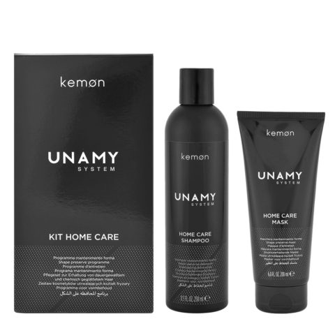 Kemon Unamy System Kit Home Care Shampoo 250ml + Mask 200ml