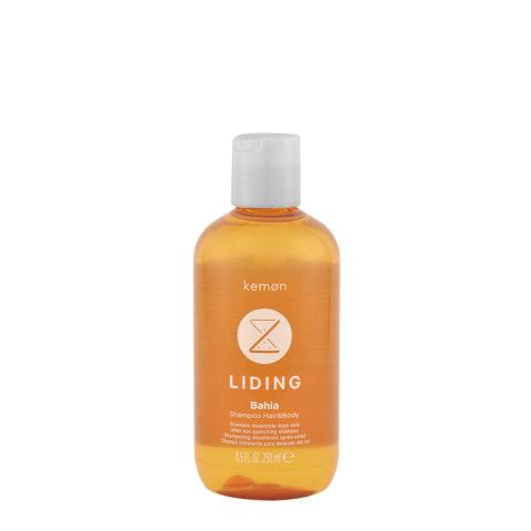 Kemon Liding Bahia Shampoo Hair & Body 250ml - shampooing après-soleil