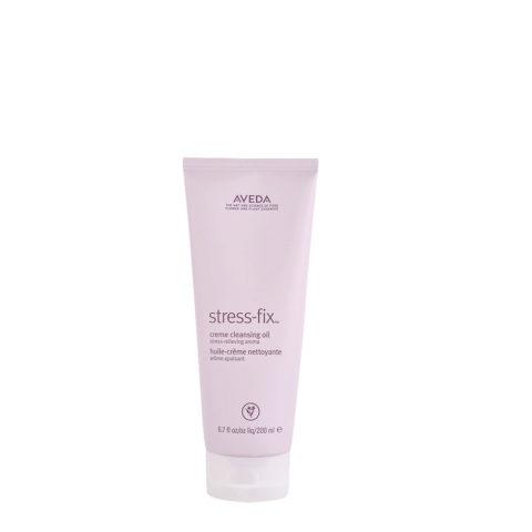 Aveda Bodycare Stress-Fix Creme Cleansing Oil 200ml - huile creme nettoyante