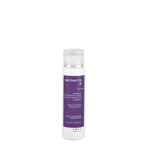Medavita Lenghts Luxviva Shampooing Protection Couleur pH 5  55ml