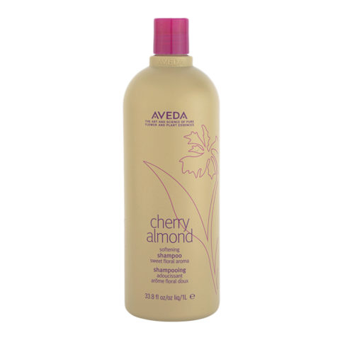 Aveda Cherry Almond Softening Shampoo 1000ml - shampooing adoucissant