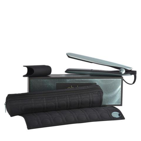 GHD Gold Professional Styler Glacial Blue Collect. with Heat-resistant Bag - lisseur avec pochette thérmorésistante