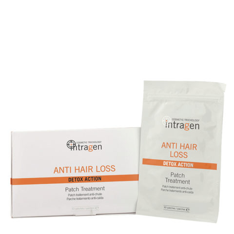 Intragen Anti Hair Loss Patch Treatment 30patches - patches anti-chute