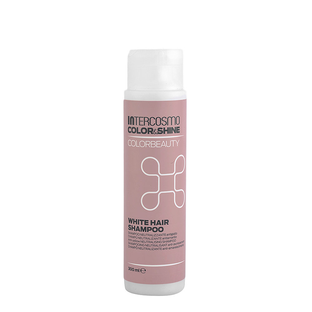 Intercosmo Color & Shine Color Beauty White Hair Shampoo 300ml - shampooing anti-jaunissement