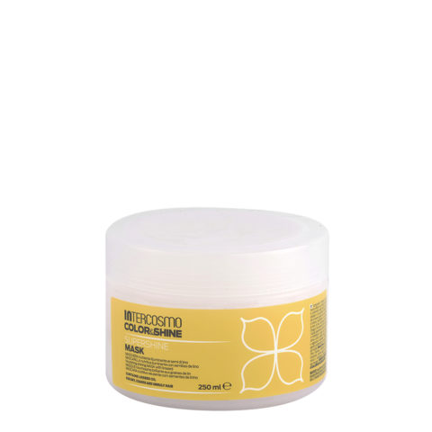 Intercosmo Color & Shine Supershine Mask 250ml - masque nourrissante brillante aux graines de lin