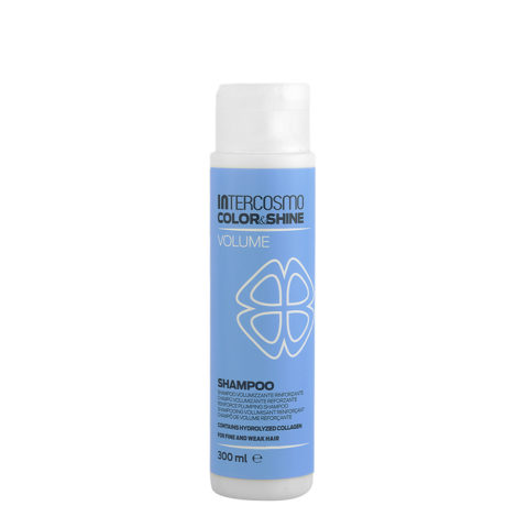 Intercosmo Color & Shine Volume Shampoo 300ml - shampooing volumisant renforçant