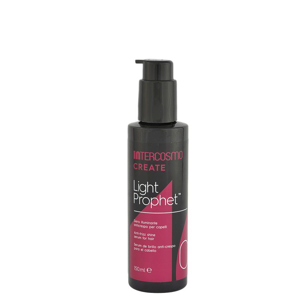 Intercosmo Create 0 Light Prophet 150ml - sérum éclaircissant anti-frisottis