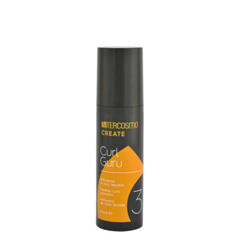 Intercosmo Create 3 Curl Guru 150ml - activateur de boucles souples