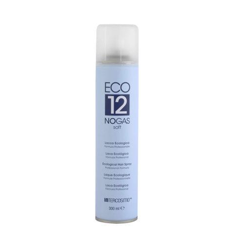 Intercosmo Styling Eco 12 No Gas Soft 300ml - laque écologique légère