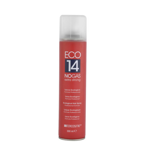 Intercosmo Styling Eco 14 No Gas Extra Strong 300ml - laque écologique extra fort