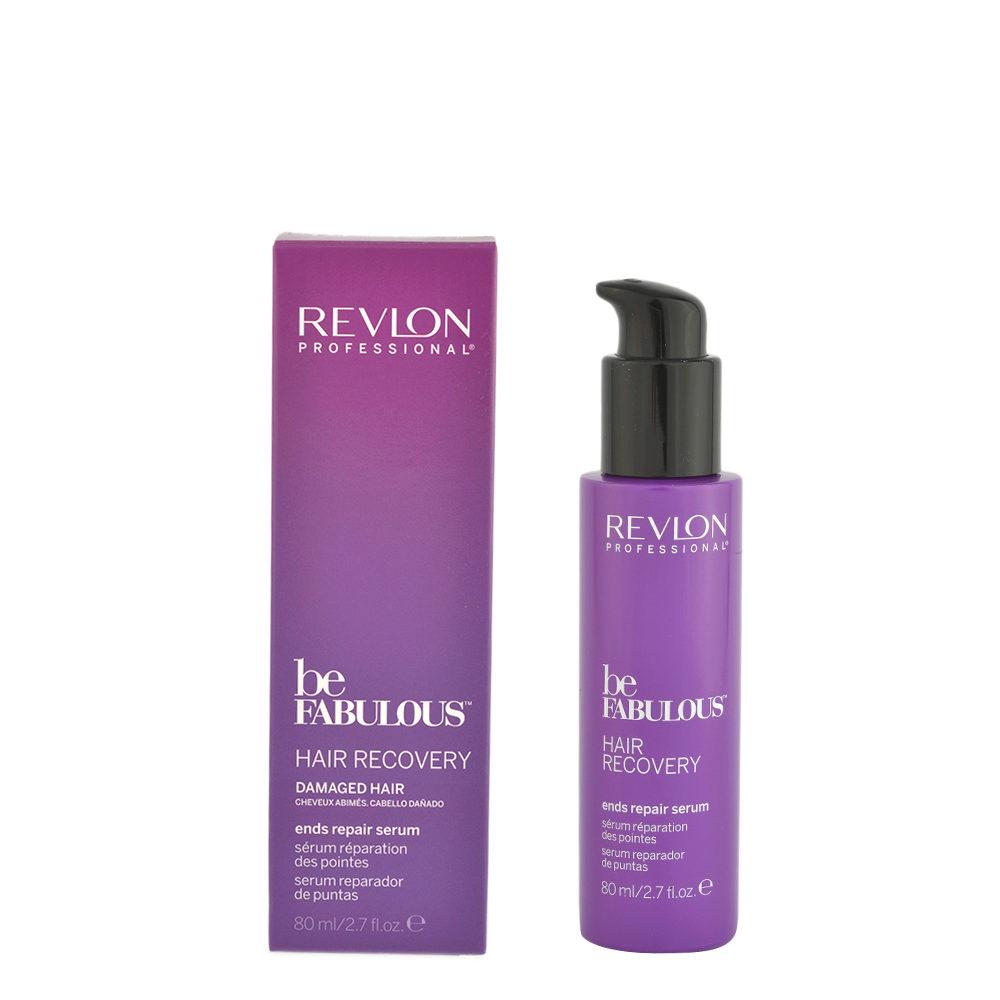 Revlon Be Fabulous Hair Recovery Ends Repair Serum 80ml - sérum à double extrémité