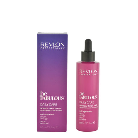 Revlon Be Fabulous Daily care Normal / thick hair Anti age serum 80ml - sérum anti-âge cheveux épais