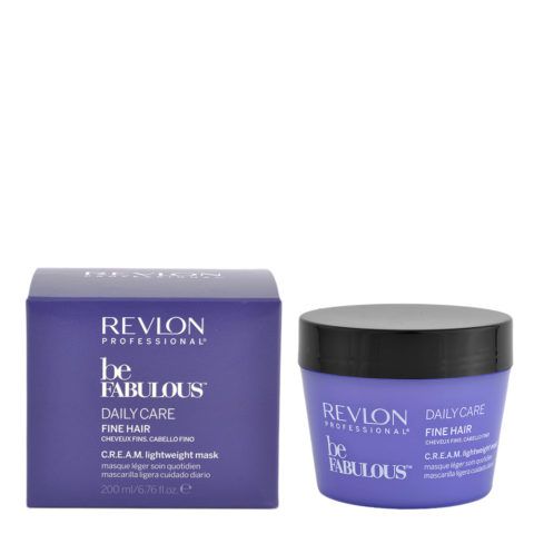 Revlon Be Fabulous Daily Care Fine Cream Mask 200ml - masque mince cheveux clairs
