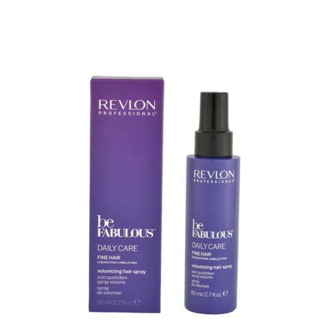 Revlon Be Fabulous Daily Care Fine hair Volumizing hair spray 80ml - spray volume cheveux fins