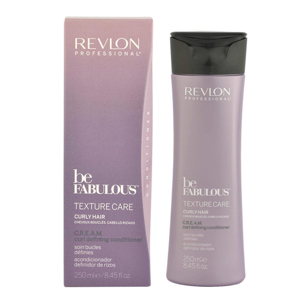 Revlon Be Fabulous Curly hair Cream Curl defining Conditioner 250ml - baume définition cheveux bouclés