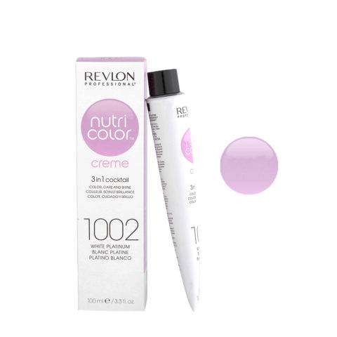 Revlon Nutri Color Creme 1002 Blanc platine 100ml - masque couleur