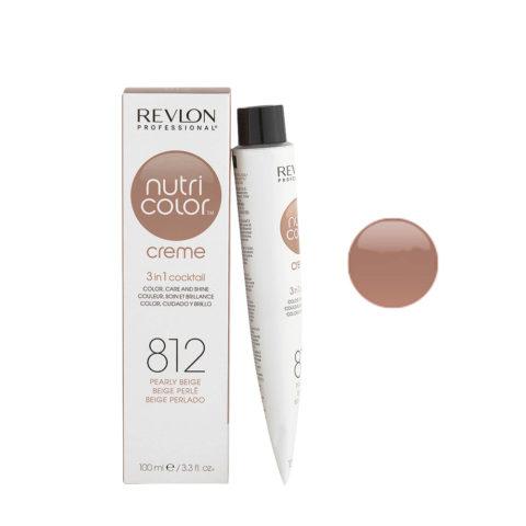 Revlon Nutri Color Creme 812 Beige perlé 100ml - masque couleur