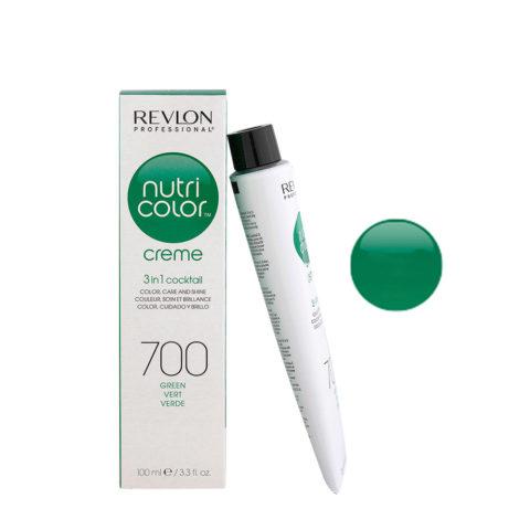 Revlon Nutri Color Creme 700 Vert 100ml - masque couleur