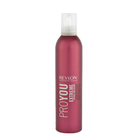 Revlon Pro You Extreme Control and Volume Strong hold Mousse 400ml - mousse fort