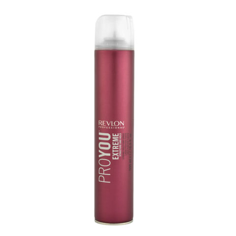 Revlon Pro You Extreme Structure and hold Strong hold Hair Spray 500ml - laque forte