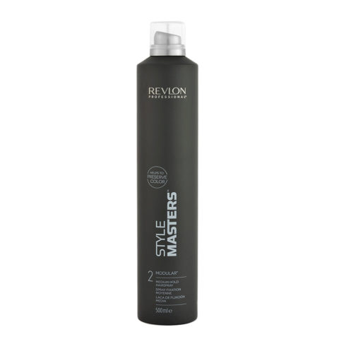 Revlon Style Masters The Must haves 2 Modular 500ml - spray fixation moyenne