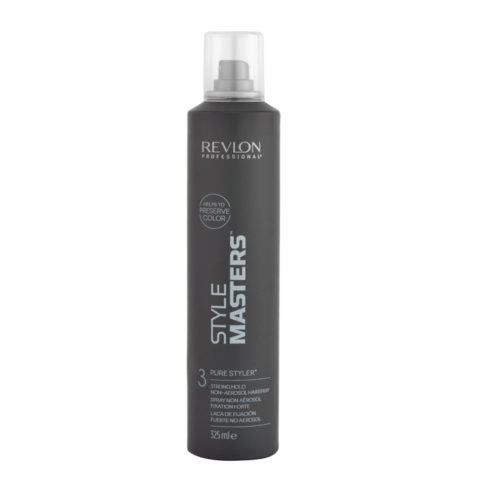 Revlon Style Masters The Must haves 3 Pure Styler 325ml - spray non aérosol fixation forte