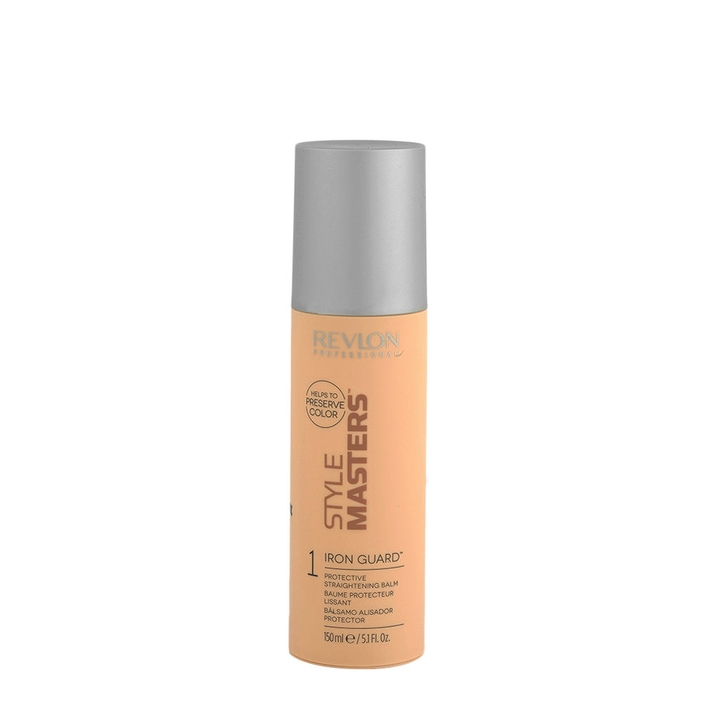 Revlon Style Masters Smooth 1 Iron Guard 150ml - baume protecteur lissant