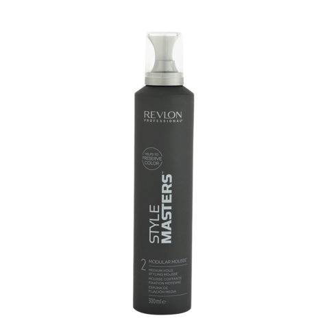 Revlon Style Masters The Must haves 2 Modular Mousse 300ml - mousse coiffante fixation moyenne