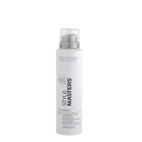 Revlon Style Masters Double or nothing 0 Reset 150ml - shampooing sec rafraîchissant   volumateur