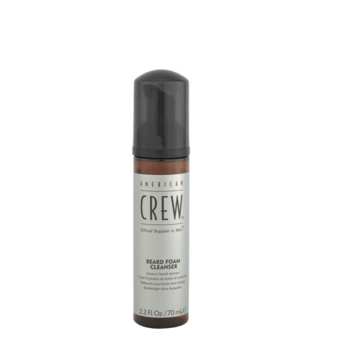 American Crew Beard Foam Cleanser 70ml - nettoyant pour barbe sans rincage