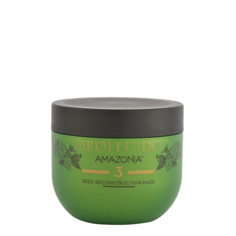 Orofluido Amazonia Step 3 Deep Reconstruction Mask 500ml - masque reconstituant profond