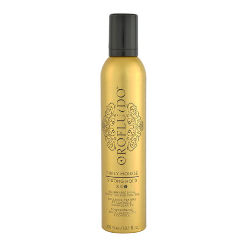 Orofluido Curly Mousse Strong Hold 300ml - mousse brillance et controle