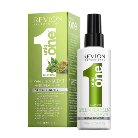 Uniq one All in one hair treatment Spray Green tea 150ml - traitement tout en 1
