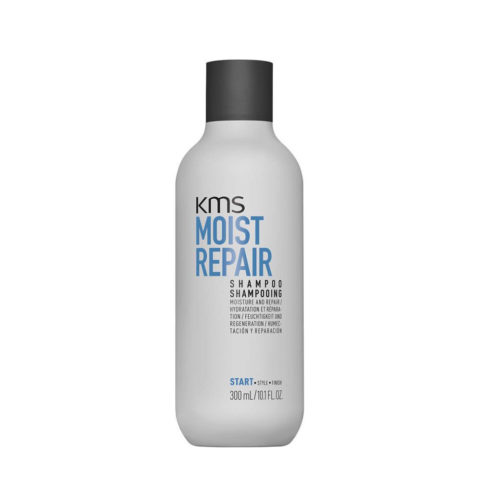 KMS Moist Repair Shampoo 300ml - Shampooing Restructurant Et Hydratant