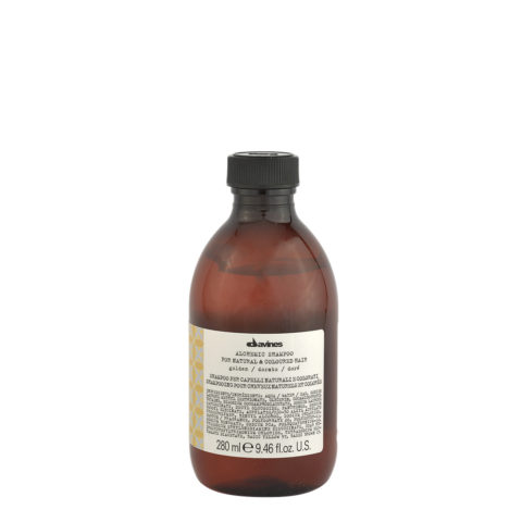 Davines Alchemic Shampoo Golden 280ml - Shampooing pour cheveux blonds