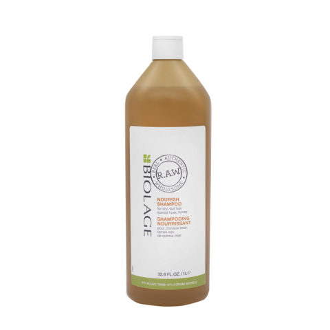 Biolage RAW Nourish Shampoo 1000ml - Shampooing Nourissant