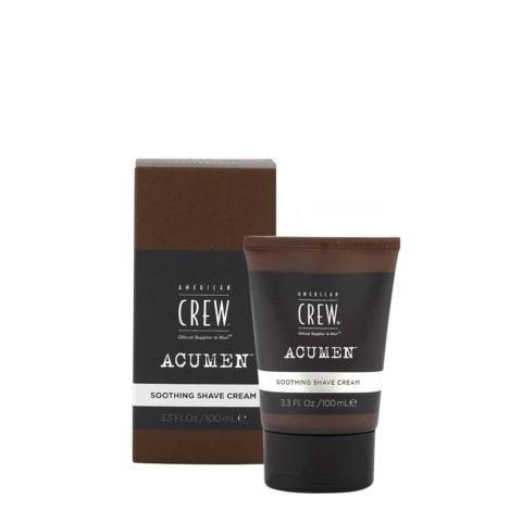 American Crew Acumen Soothing Shave Cream 100ml - Crème De Rasage Hydratante