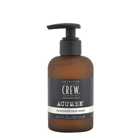 American Crew Acumen In-Shower Face Wash 190ml - Nettoyant Visage