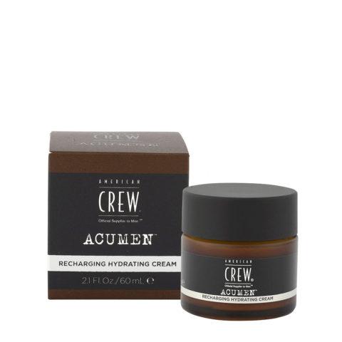 American Crew Acumen Recharging Hydrating Cream 60ml - Crème Hydratante Revitalisante