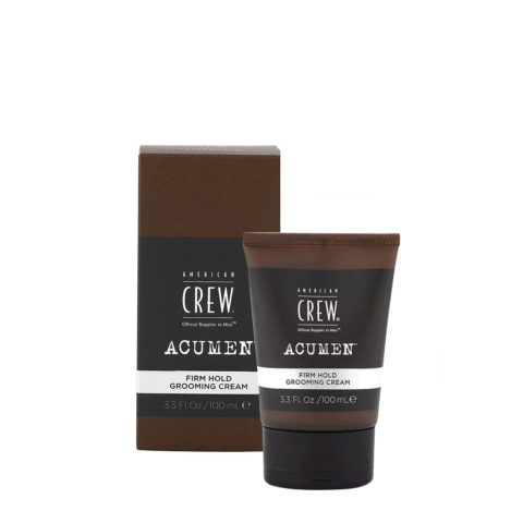 American Crew Acumen Firm Hold Grooming Cream 100ml - Crème Modelante Cheveux