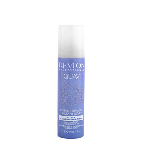 Revlon Equave Blonde Detangling Conditioner 200ml - soin démêlant cheveux blonds