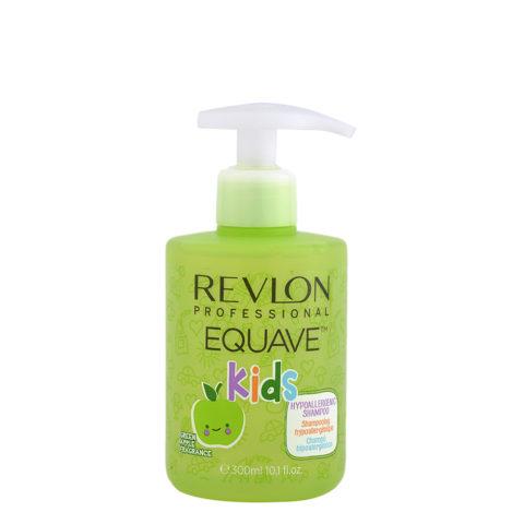 Revlon Equave Kids Hypoallergenic Shampoo Green Apple 300ml - shampooing hypoallergénique pour enfants