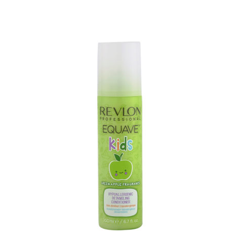 Revlon Equave Kids Green Apple Hypoallergenic Detangling conditioner 200ml - soin démêlant hypoalergénique