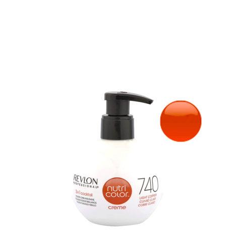 Revlon Nutri Color Creme 740 Cuivré clair 270ml