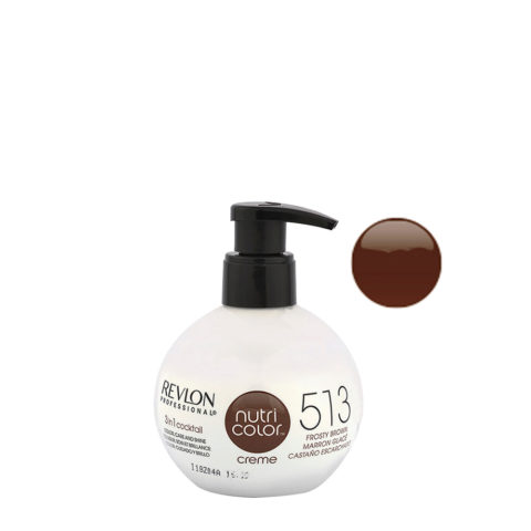Revlon Nutri Color Creme 513 castaño escharchado 270ml