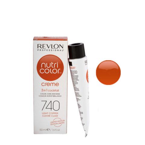 Revlon Nutri Color Creme 740 Cuivré clair 50ml