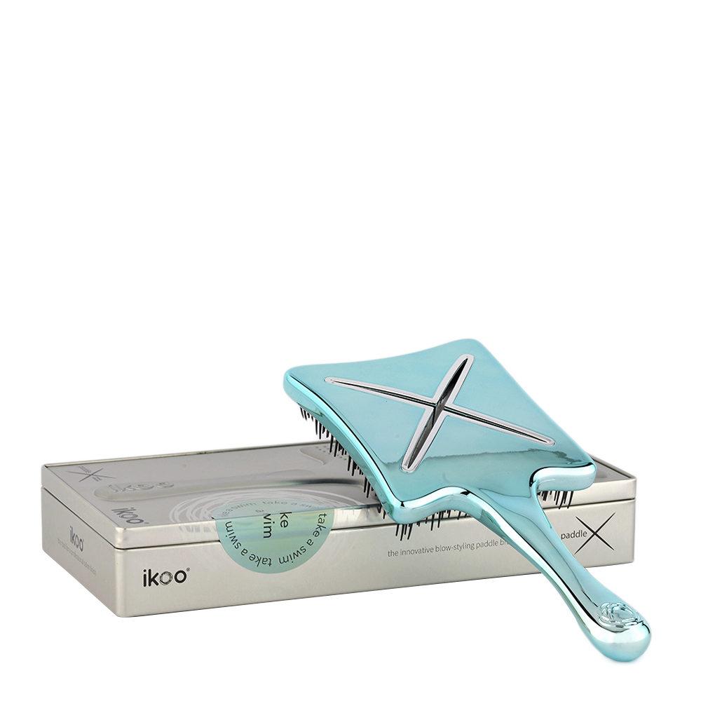 Ikoo Paddle X Metallic Take a swim - brosse plate