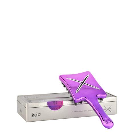 Ikoo Paddle X Pops Love affair - brosse de voyage plate